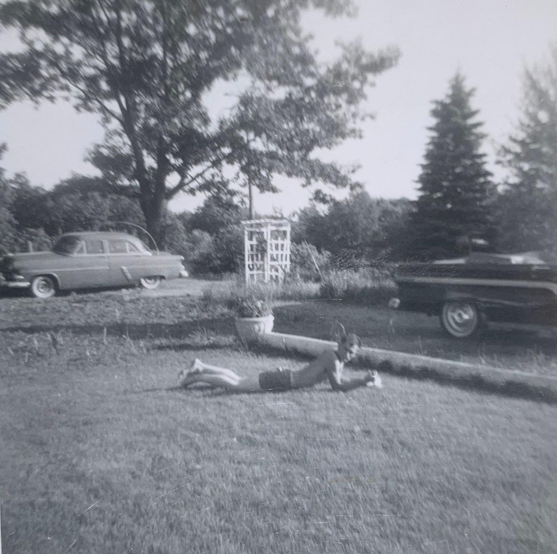 Ellery Lane early 1960s Burlington MA