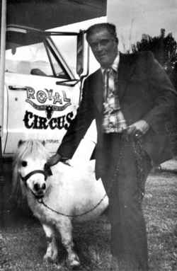 Royal Ranch Wild West Circus owner Ozzie Schleentz