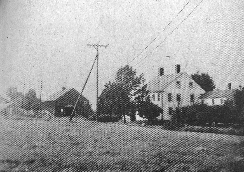 William Graham farm South Bedford Street Burlington MA