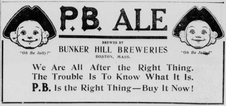1907 ad P.B. Ale