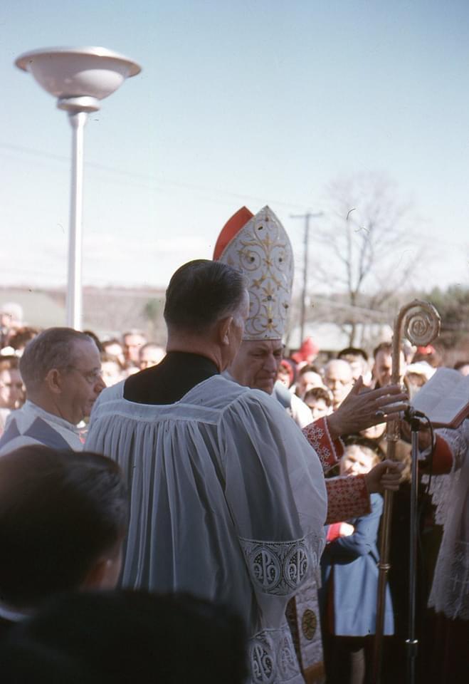 Cardinal Cushing at St. Malachy 2. Photo credit: Liz Serpa
