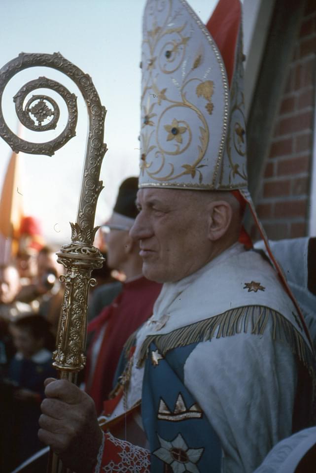 Cardinal Cushing at St. Margaret's 1. Photo credit: Liz Serpa