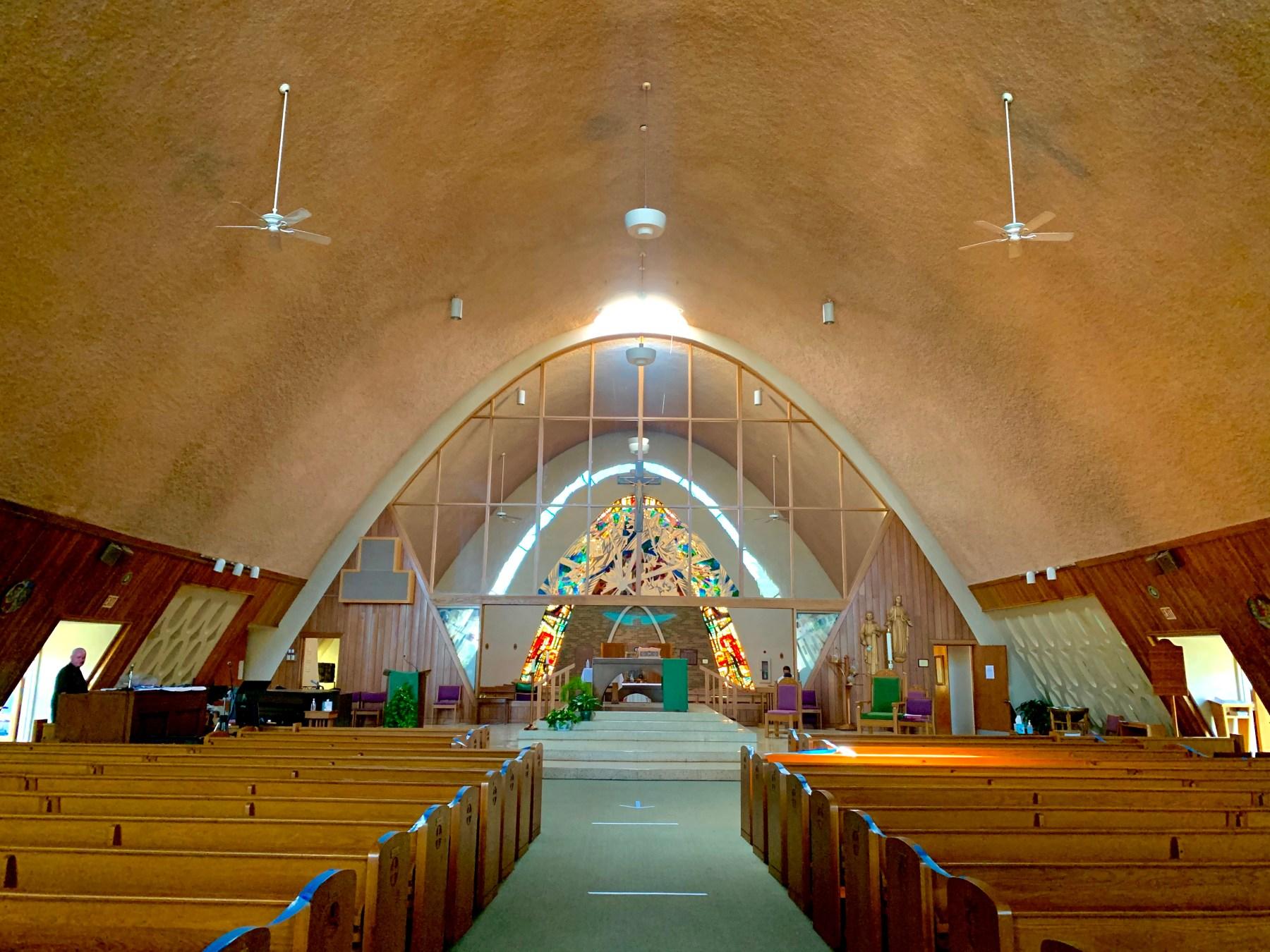 St. Malachy's interior 1, Burlington MA