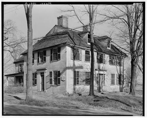 William H. Winn house, angle 2, Burlington MA