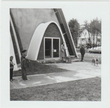 West School dedication ceremony 1964 2