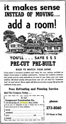 Component Construction Burlington MA