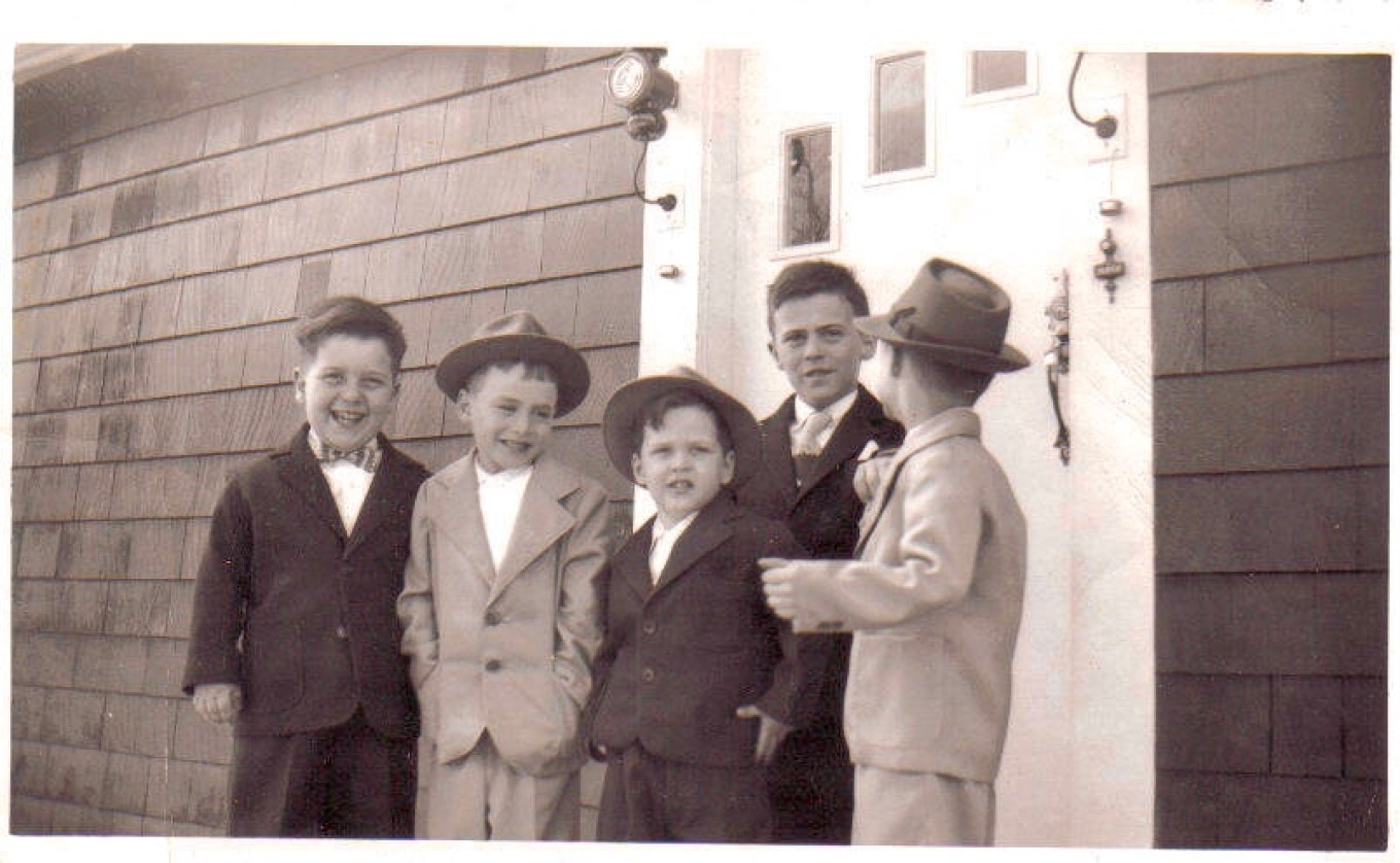 Easter Sunday 1956 Pimentel, Burlington MA