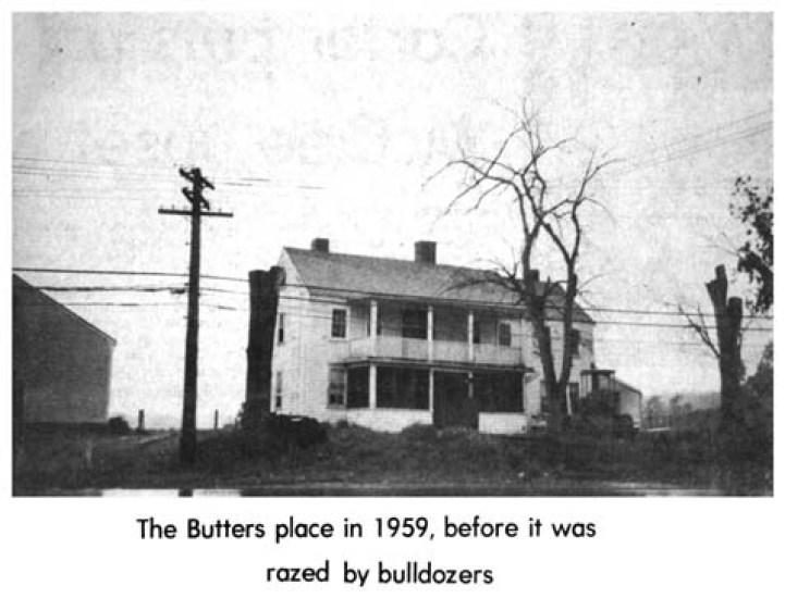 Butters home in 1959 Burlington MA