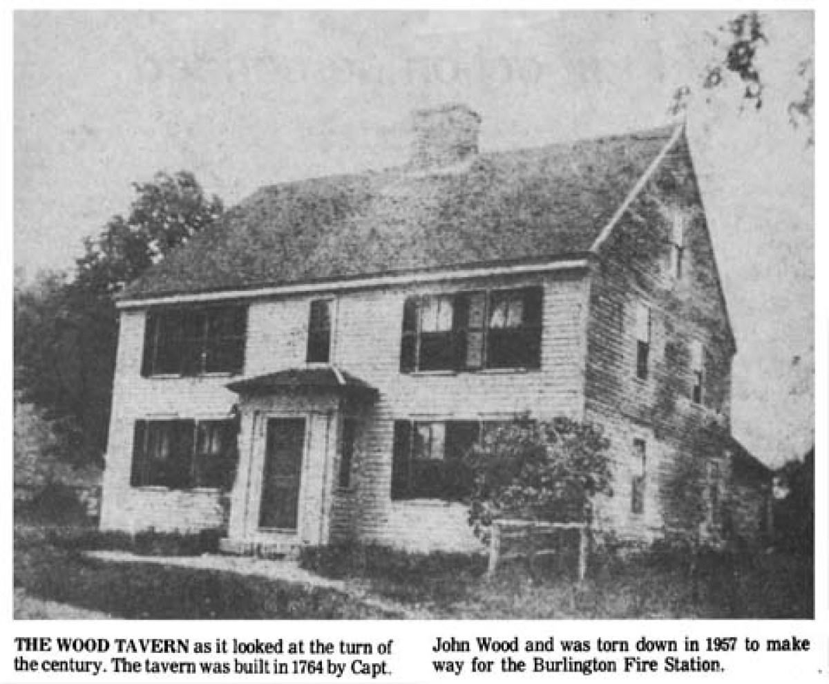 Wood Tavern Burlington MA