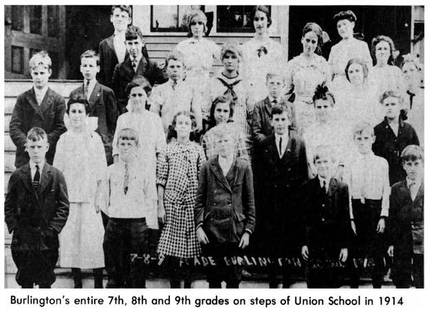 Burlington's 7th, 8th and 9th graders Burlington MA