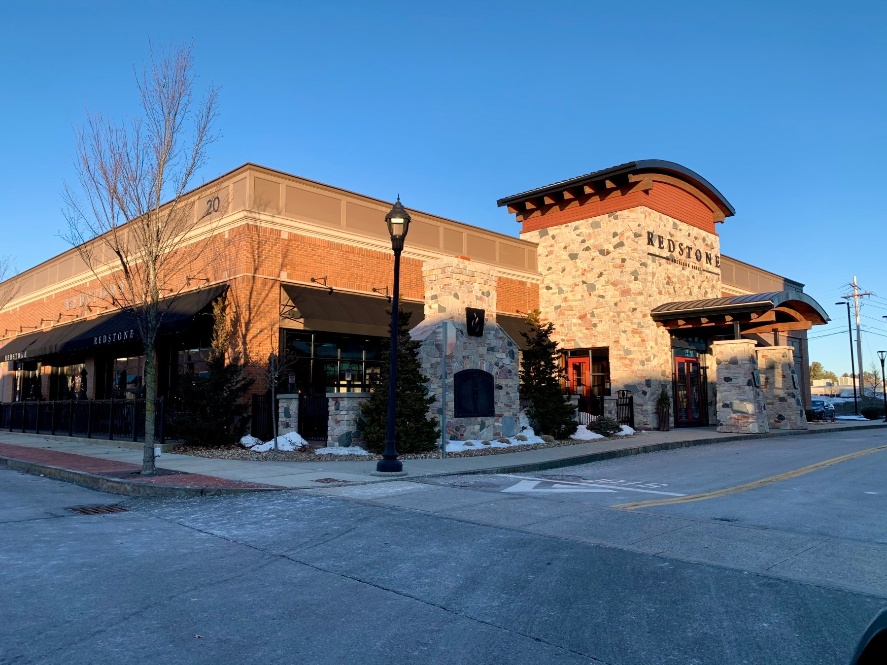 Redstone Grill, 20 Third Ave., Burlington, MA