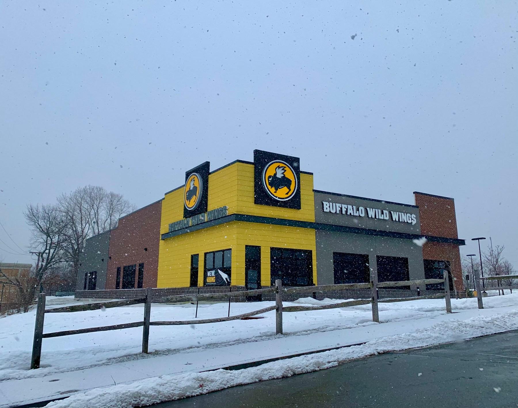 Buffalo Wild Wings, 15 South Ave., Burlington, MA