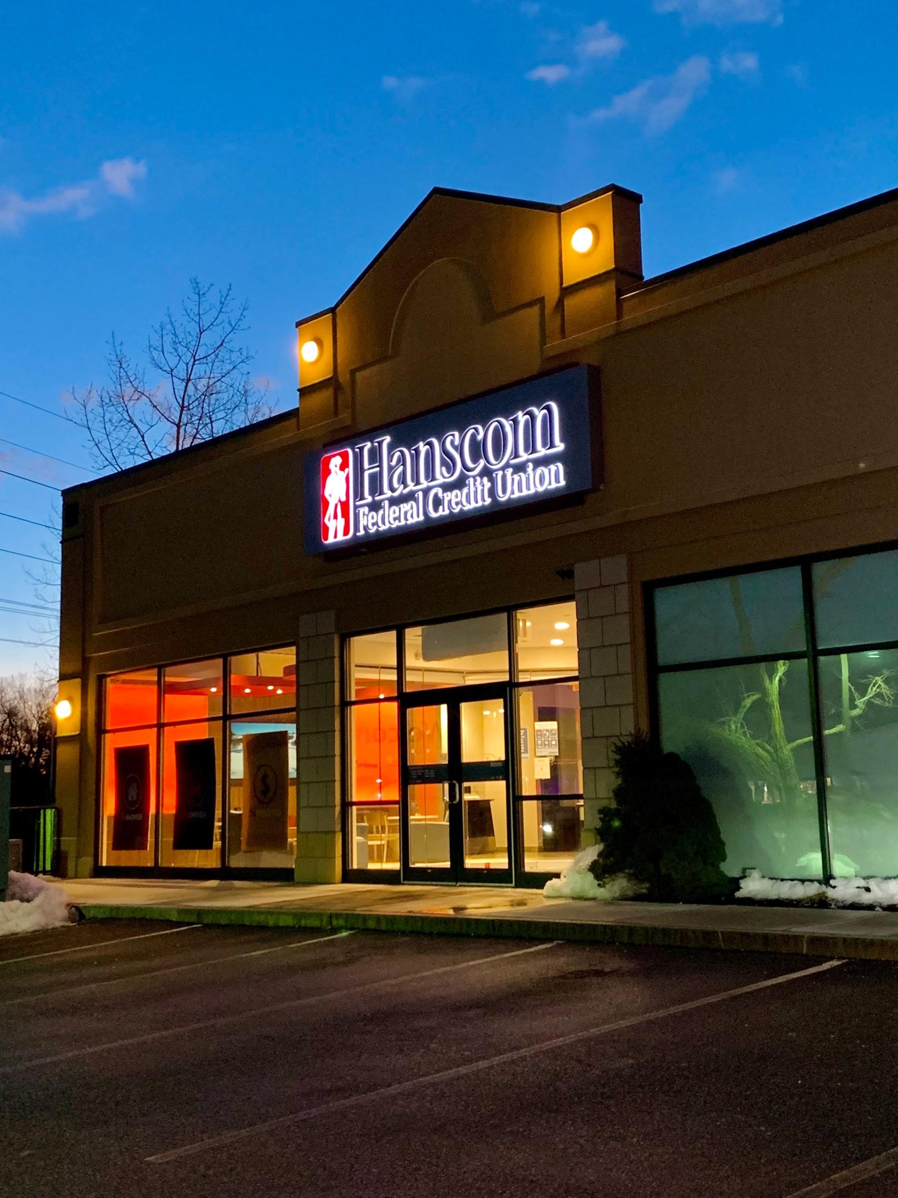 Hanscom Federal Credit Union, 47 Middlesex Turnpike, Burlington, MA