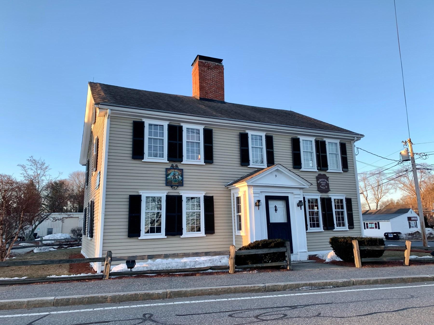 General Walker house, 9 Bedford Street, Burlington MA