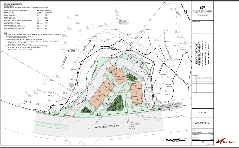 Kent Cottage site plan by Nordblom