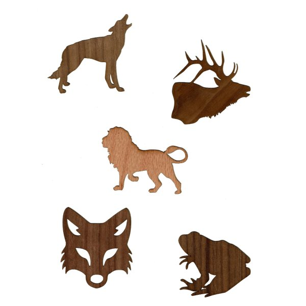 Forest Wood Stickers