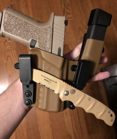 Coyote Tan and Black