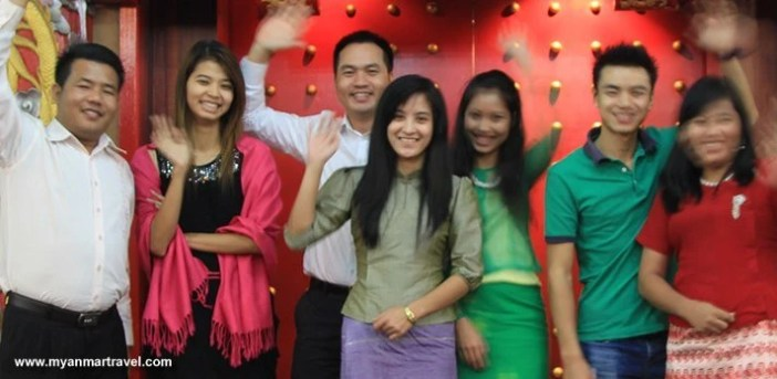 Year End Party 2012 of Asia Travel & Leisure in Yangon