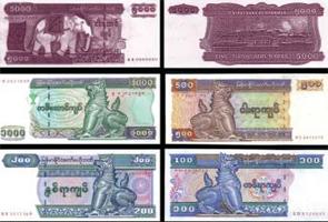 မြန်မာကျပ်ငွေစက္ကူများ