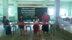 WLB သတင်းစာရှင်းလင်းပွဲ (photo: Freedom Chanmyaehtun)