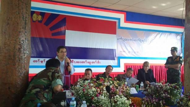 ကော်သူလေးတပ်မတော်ဖွဲ့စည်းခြင်းဆိုင်ရာ အစည်းအဝေး (Tayzar Aung)