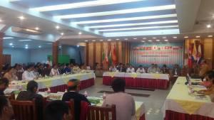 UNA ညီလာခံ ကျင်းပနေစဉ်(UNA)