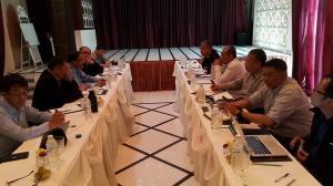 NCCT နှင့် MPC တို့ ချင်းမိုင်တွင် ဒီဇင်ဘာလဆန်းပိုင်းအတွင်း တွေ့ဆုံခဲ့စဉ်(Nyo Ohn Myint Facebook)