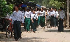 အလယ်တန်းကျောင်းသားများ(internet)
