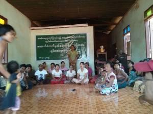 လိမ်လည်ခံရသူ ၃၅ ဦး၏သတင်းစာရှင်းလင်ပွဲ(IMNA)