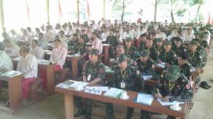 နဝမအကြိမ် NMSP ညီလာခံကိုယ်စားလှယ်များ( Sike Chan Htaw)