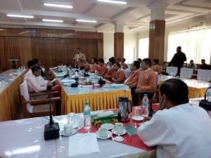 မွန်ပြည်နယ်လွှတ်တော်ဥက္ကဌနှင့် ၂၀၁၅ ရွေးကောက်ပွဲ အနိုင်ရကိုယ်စားလှယ်များတွေ့ဆုံပွဲ(MNA)