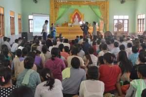 MCL လူထုတွေ့ဆုံပွဲ၊ ကော့ဒွန်းကျေးရွာ(မွန်ထော်)