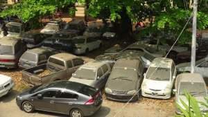 သိမ်းဆည်းလိုင်စင်မဲ့ကားများ(MNA)