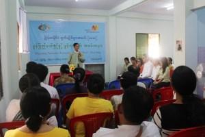 မြန်မာနိုင်ငံမျက်မမြင်များအသင်း (မွန်ပြည်နယ်) မော်လမြိုင်ရုံးခွဲ ဖွင့်ပွဲ(MNA)