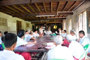 AMDP ပါတီ ချောင်းဆုံမြို့နယ်အလုပ်မှုဆောင်အစည်းအဝေး(MNA)