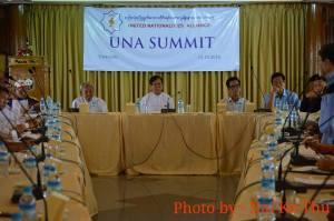 UNA ၏ ထိပ်သီး အစည်းအဝေး-(Nai Ko Thu)