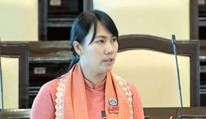 အမျိုးသားလွှတ်တော်ကိုယ်စားလှယ် ဒေါ်မြတ်သီတာထွန်း(Facebook)
