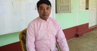 AMDP ပါတီ ချောင်းဆုံမြို့နယ် ပြည်သူ့လွှတ်တော်ကိုယ်စားလှယ်လောင်း နိုင်ဝင်းထွဋ် (ခ) နိုင်မြဝင်း
