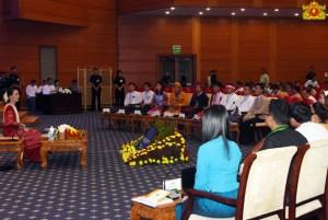 နိုင်ငံတော်၏အတိုင်ပင်ခံပုဂ္ဂိုလ်နှင့်လူငယ်များစကားဝိုင်း(Myanmar State Counsellor Office)