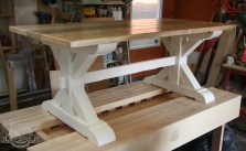 x dining table white base 5