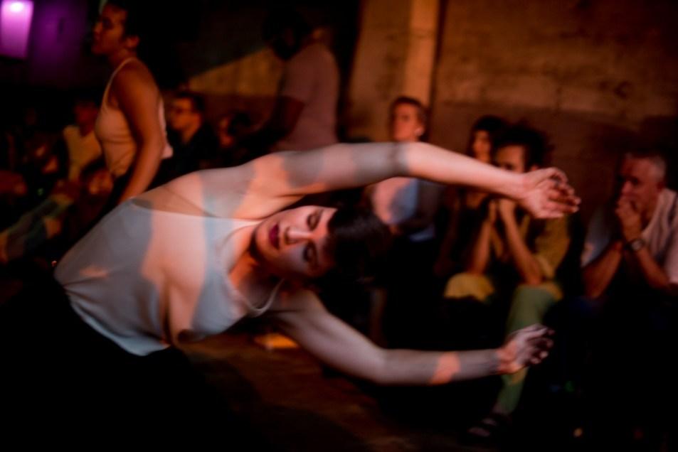 Performance at Argha Noah choreographed by Anicka Austin and photographed by Alan Kimara Dixon.