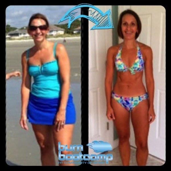 Lindsay Jones Burn Bootcamp Cornelius Weight Loss Story
