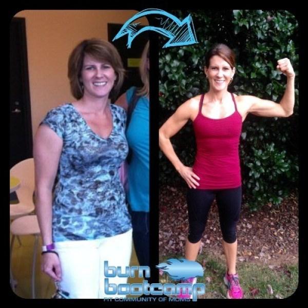 Jen Spencer Burn Bootcamp Huntersville Weight Loss Story