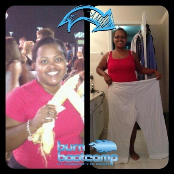 Lakisha McDonald Burn Bootcamp Huntersville Weight Loss Story