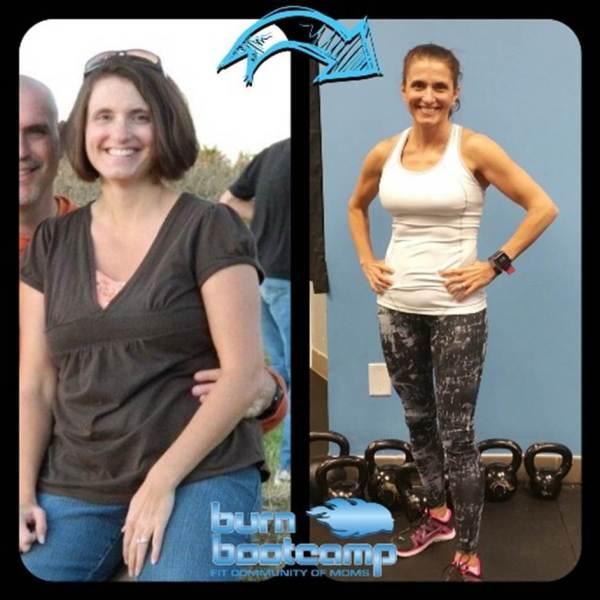 Karen Gouge Burn Bootcamp Mooresville Weight Loss Story