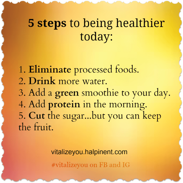 5 Steps to health