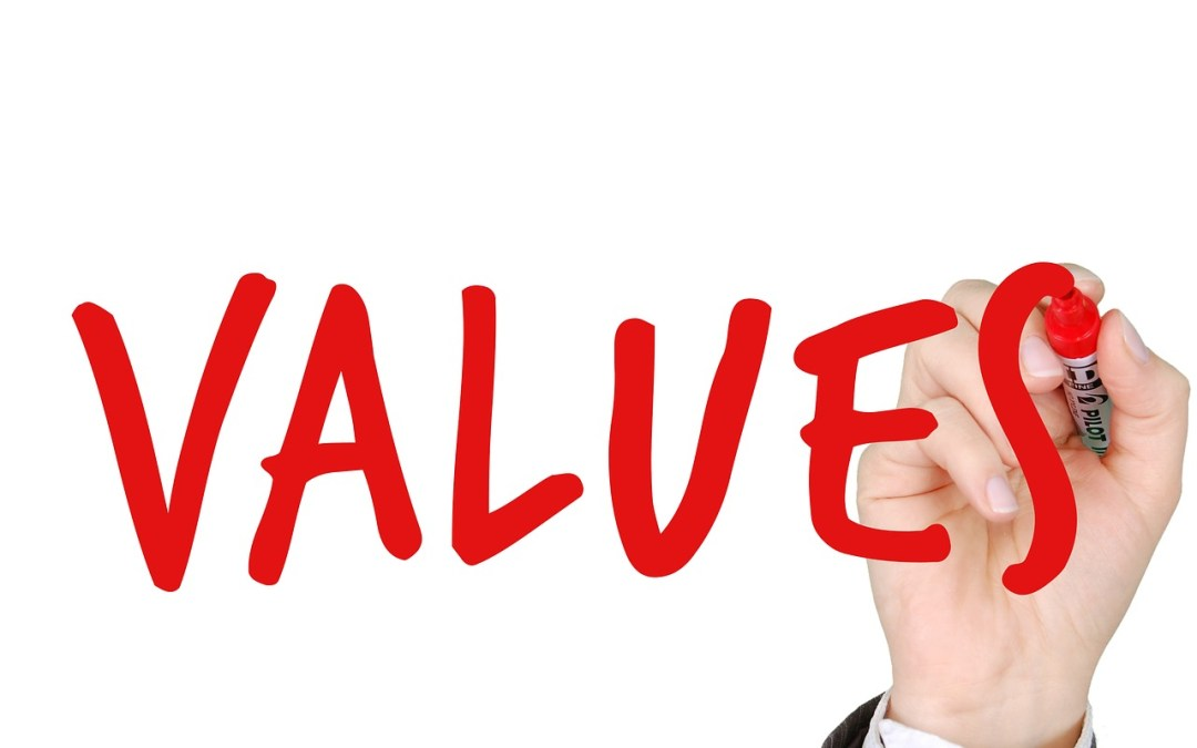 The top values you need in life.
