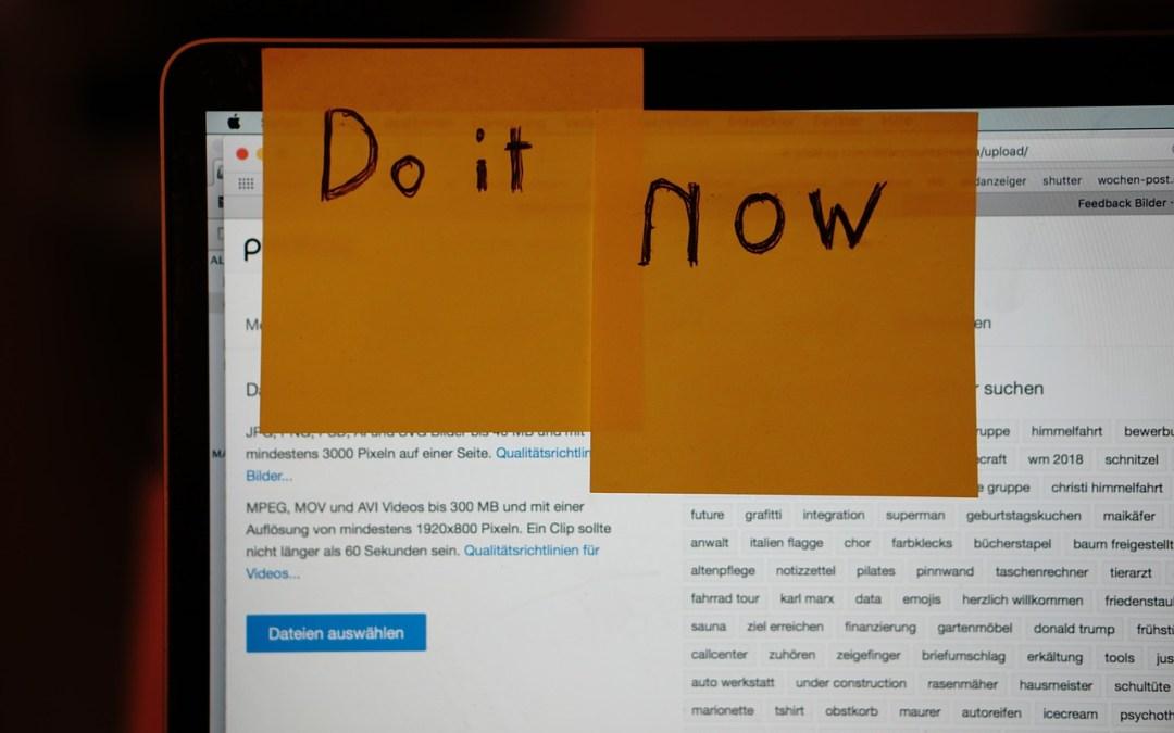 Do it…