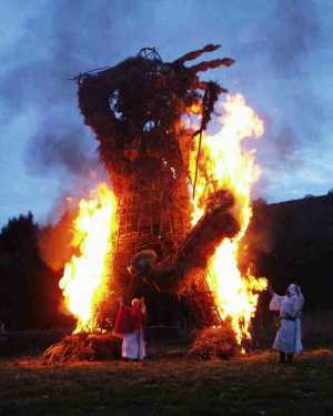 Butser-Wicker-Man