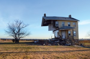 sandy house rebuild